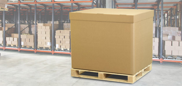 DS Smith Packaging – Strong cardboard Pallet Boxes for UK & export ...